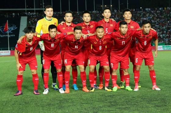 Đội tuyển Việt Nam. (Ảnh: HỮU THÀNH)
