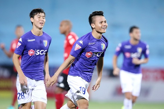 Tay săn bàn trẻ Quang Hải thi đấu khá ổn định trong thời gian qua. (Ảnh: MINH HOÀNG)