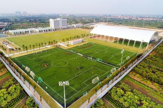 Toàn cảnh các sân tập của Trung tâm VPF tại Hưng Yên