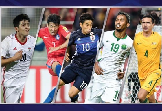 Điểm qua 5 đại diện của AFC dự VCK World Cup 2018