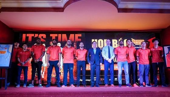 Đội Saigon Heat đặt quyết tâm vào chung kết mùa giải 2017-2018. Ảnh: ANH TRẦN