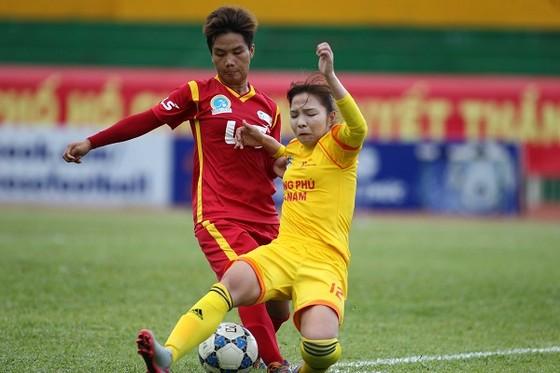 Cuộc đối đầu gần đây giữa hai đội kết thúc với tỷ số 2-0 cho đội TPHCM I. Ảnh: ANH TRẦN