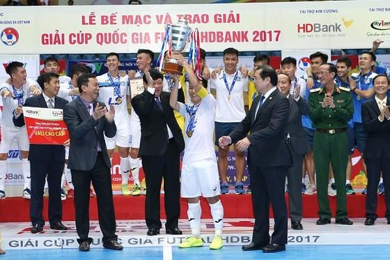 Thái Sơn Nam tiếp tục khẳng định vị trí số 1 ở sân chơi trong nước. Ảnh: BẠCH DƯƠNG