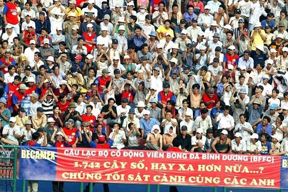 Hội CĐV đội Bình Dương (BFFC) tái khởi động chương trình tour cổ vũ đội nhà trên sân khách. Ảnh: ANH TRẦN