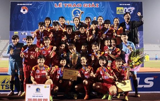 300 triệu đồng cho đội vô địch giải bóng đá nữ VĐQG – Cúp Thái Sơn Bắc 2018 ảnh 1