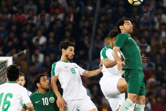 Iraq trogn cuộc so tài mới đây với Saudi Arabia