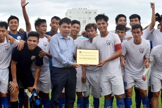 Đội An Giang giành vé thăng hạng mùa này