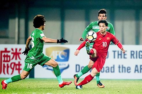 Cuộc so tài mới đây giữa U23 Iraq và U23 Việt Nam