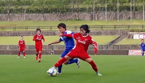 Đội nữ Việt Nam tích cực chuẩn bị cho Asiad 2018