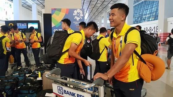 Đội Olympic Việt Nam đến Jakarta ảnh 1