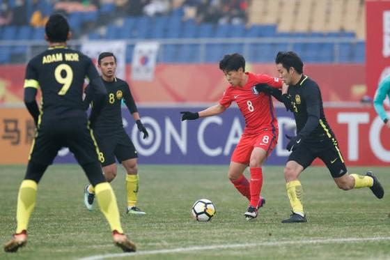 Malaysia bất ngờ giành 3 điểm trước Hàn Quốc. Ảnh: Getty Image