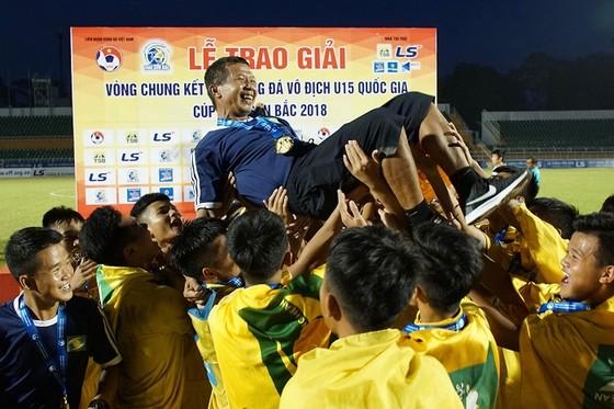 SLNA lên ngôi vô địch giải U15 quốc gia - Cúp Thái Sơn Bắc 2018 ảnh 1