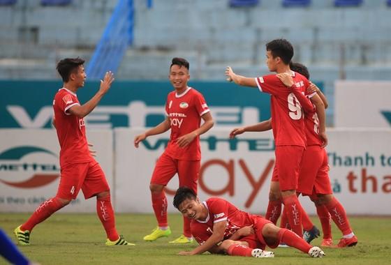 Đội Viettel đang đến gần với V-League. Ảnh: MINH HOÀNG