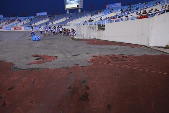 Một góc sân vận động Mỹ Đình