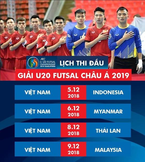 Thái Lan được chọn đăng cai vòng bảng U20 futsal châu Á 2019 ảnh 2