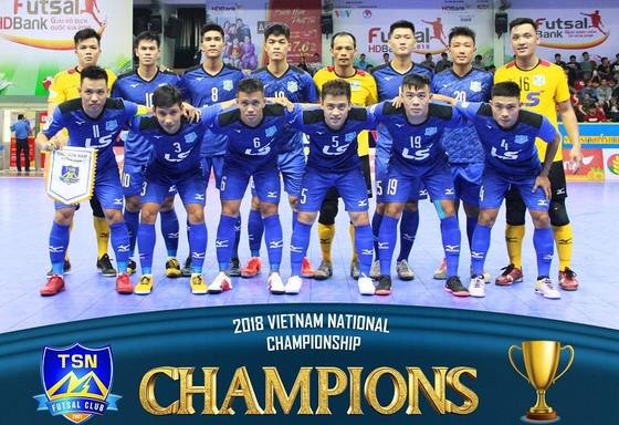 CLB futsal Thái Sơn Nam có 8 lần VĐQG. Ảnh: TSNFC
