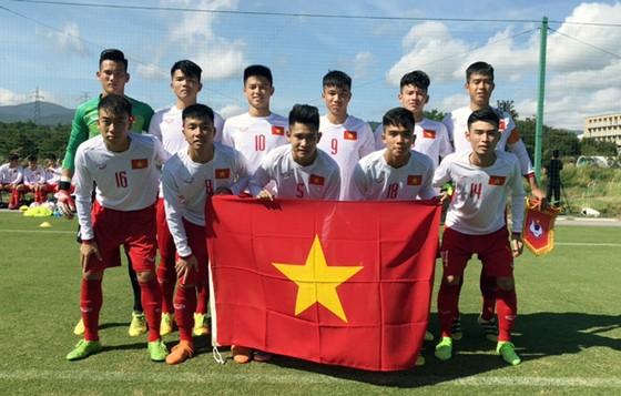 Đội U17 Việt Nam. Ảnh: Đoàn Nhật