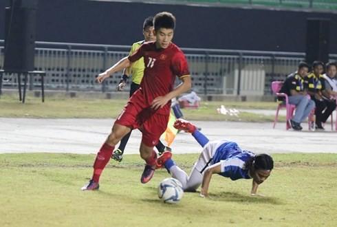 U19 Việt Nam rơi vào bảng đấu khá nặng. Ảnh: Đoàn Nhật