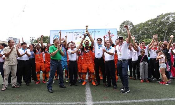 Hội Doanh Nghiệp Thủ Đức đoạt chức vô địch giải  bóng đá Hội Doanh nghiệp TPHCM 2018 ảnh 1