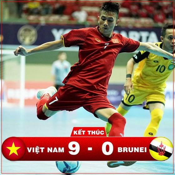 ĐT futsal Việt Nam đã có màn khởi đầu ấn tượng. Ảnh: ĐỘC LẬP