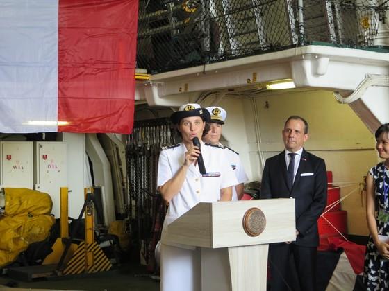 Tàu Hải quân Pháp Surcouf thăm TPHCM ảnh 3