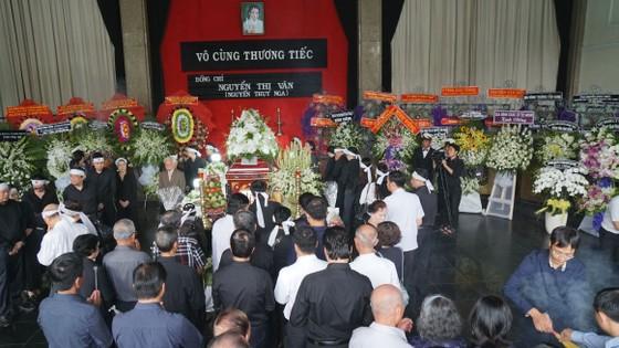 Lễ an táng đồng chí Nguyễn Thị Vân ảnh 1