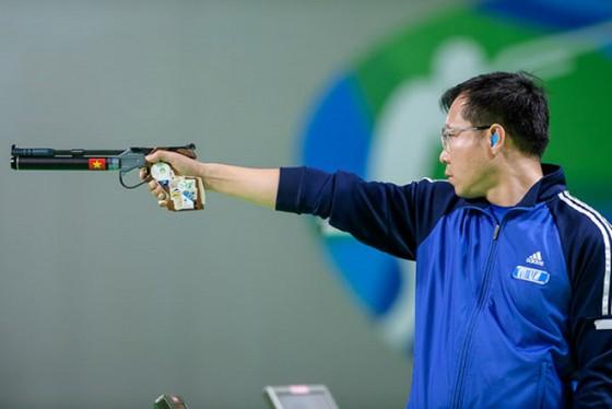 Xạ thủ Hoàng Xuân Vinh xếp số 1 thế giới. Ảnh: THIÊN HOÀNG