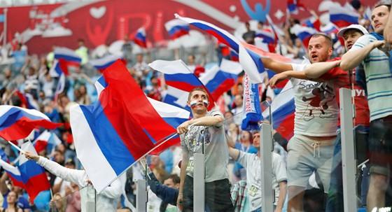 Phạt 10.000 rúp nếu xúc phạm danh dự tuyển Nga ảnh 1