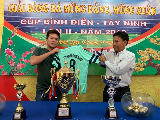 Cúp bóng đá Bình Điền Tây Ninh lần thứ 2-2019: Báo Sài Gòn Giải Phóng là khách mời ảnh 1