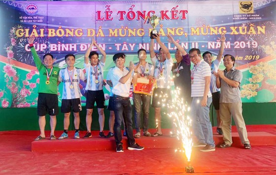 Cúp bóng đá Bình Điền Tây Ninh lần 2-2019: Báo Sài Gòn Giải Phóng đoạt Cúp đồng ảnh 4
