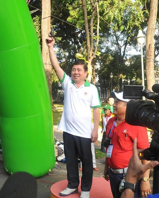 """TPHCM tổ chức Ngày chạy Olympic """"Vì sức khoẻ toàn dân"""": Hơn 20.000 người tham dự ảnh 1"""