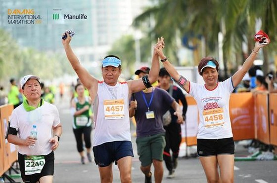 Số lượng đăng ký tham dự Cuộc thi Marathong quốc tế Đà Nẵng 2019 ngày càng đông đảo.