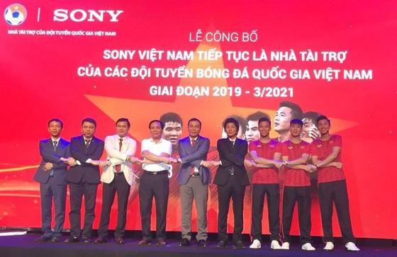Sony tài trợ chính cho các đội tuyển Việt Nam ảnh 1
