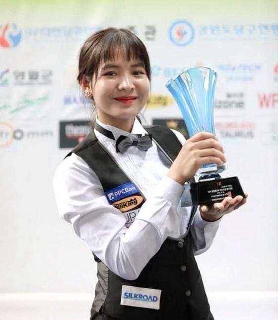 Giải vô địch Billiards carom châu Á 2019: Người đẹp Sruong Pheavy gây sốt ảnh 1