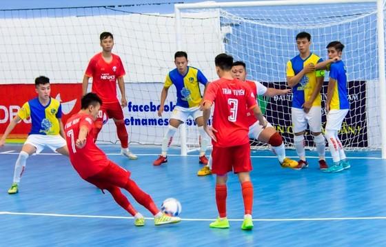 Sahako FC thẳng tiến ở ngôi đầu bảng giải futsal VĐQG 2019 sau vòng 4 ảnh 1