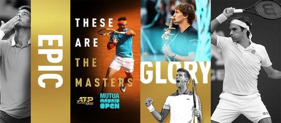 """Các """"cao thủ"""" chen chân vào cùng nhánh đấu ở Madrid Open 2019."""