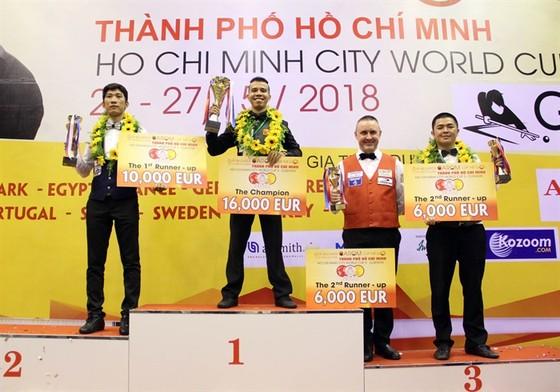 World Cup Billiards 3 băng TPHCM 2019: Tay cơ vô địch nhận thưởng 16.000 Euro ảnh 1