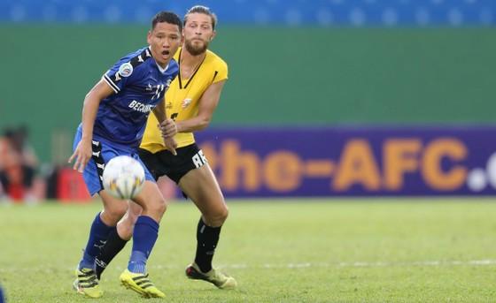 Bexamex Bình Dương cùng Hà Nội đã vượt qua vòng bảng AFC Cup 2019. Ảnh: DŨNG PHƯƠNG