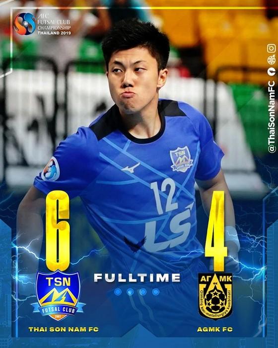 Ngược dòng thắng AGMK, Thái Sơn Nam giành hạng ba châu Á ảnh 2