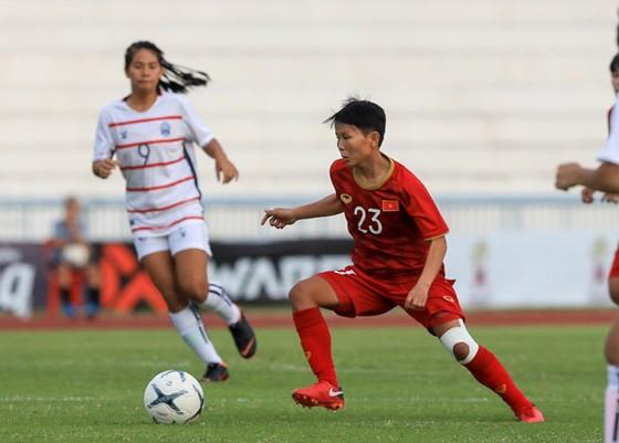 Thắng Campuchia 10-0, đội nữ Việt Nam khởi đầu nhẹ nhàng tại giải Đông Nam Á 2019 ảnh 2
