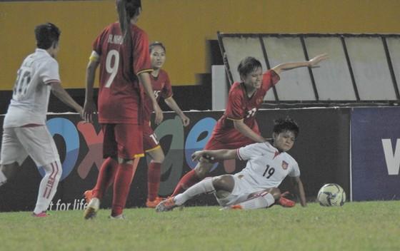 Đội tuyển nữ Việt Nam toàn thắng ở bảng B ảnh 1