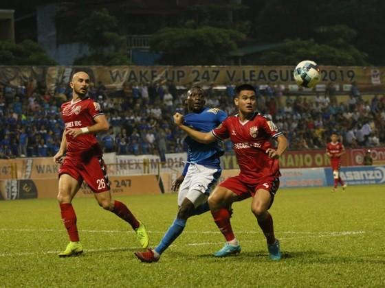 Becamex Bình Dương tiếp tục đà chiến thắng ở V-League 2019. Ảnh: Minh Hoàng