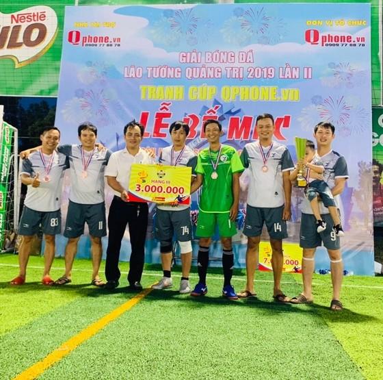 """Giải bóng đá lão tướng Quảng Trị 2019 đã tìm ra """"nhà vua"""" mới ảnh 1"""