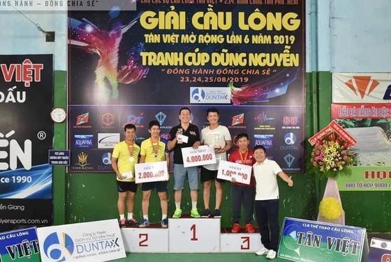 Giải cầu lông thiện nguyện Tân Việt – Cúp Dũng Nguyễn 2019: ảnh 1