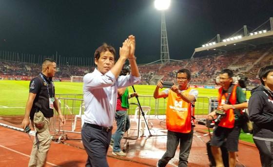 Hòa ĐT Việt Nam trong thời điểm vừa tiếp nhận ghế HLV được xem là thành công cho ông Arika. Ảnh: DŨNG PHƯƠNG