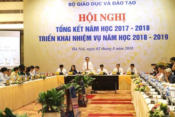Năm học 2018-2019: Bộ GD-ĐT hứa đẩy lùi tình trạng lạm thu ảnh 1