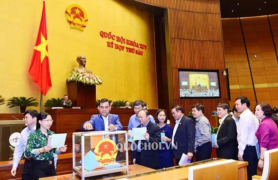 Quốc hội công bố kết quả lấy phiếu tín nhiệm ảnh 1