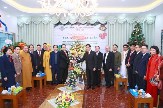 Ủy ban TƯ MTTQ Việt Nam chúc mừng Giáng sinh 2018 ảnh 2