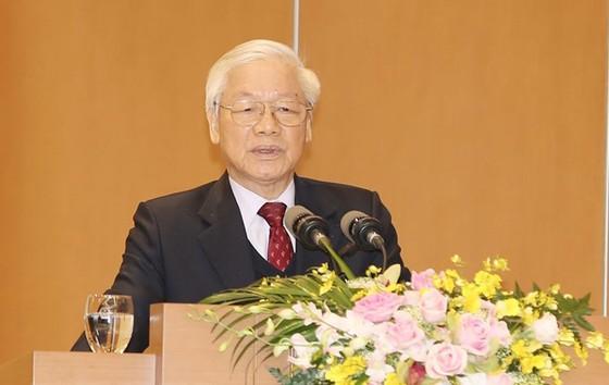 Đồng chí Nguyễn Phú Trọng: Kiên quyết đấu tranh loại bỏ những người tham nhũng, hư hỏng   ảnh 1
