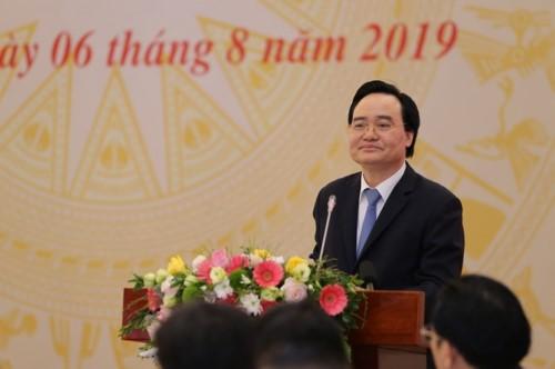 Bộ trưởng Phùng Xuân Nhạ: Quyết tâm khắc phục và tạo sự chuyển biến căn bản các vấn đề về GD-ĐT ảnh 2